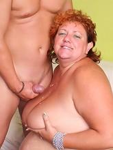 BBW Sherry spreads her thick...